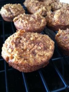 GF Carrot Muffins